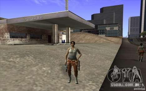 Chell from Portal 2 para GTA San Andreas