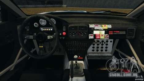 Subaru Impreza WRX STI 1995 Rally version para GTA 4 vista de volta