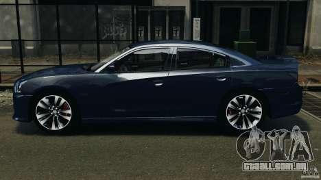 Dodge Charger SRT8 2012 v2.0 para GTA 4 esquerda vista