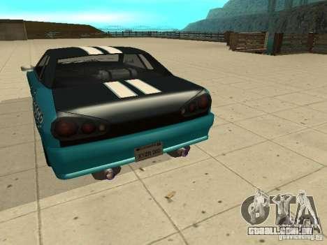 Elegy Forsage para GTA San Andreas vista direita