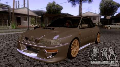 Subaru Impreza 22 para GTA San Andreas