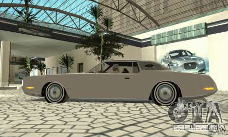 Lincoln Continental Mark IV 1972 para GTA San Andreas vista traseira