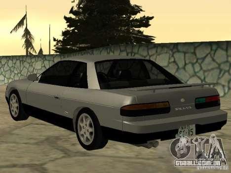 Nissan Silvia PS13 para GTA San Andreas esquerda vista
