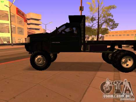 Chevrolet Silverado HD 3500 2012 para GTA San Andreas vista superior