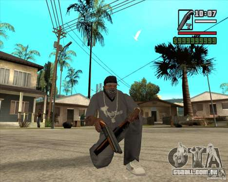 Millenias Weapon Pack para GTA San Andreas oitavo tela
