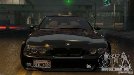BMW M5 E39 BBC v1.0 para GTA 4 traseira esquerda vista