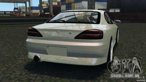 Nissan Silvia S15 Drift para GTA 4 traseira esquerda vista