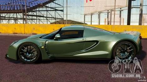 Hennessey Venom GT 2010 [EPM] para GTA 4 esquerda vista