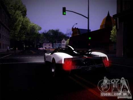 Realistic Graphics 2012 para GTA San Andreas por diante tela