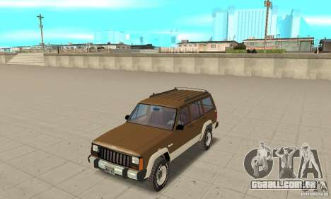 Jeep Grand Cherokee 1986 para GTA San Andreas