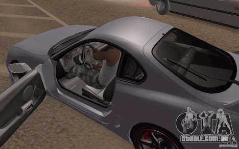 Toyota Supra Mark IV para GTA San Andreas vista interior