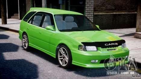 Toyota Sprinter Carib BZ-Touring 1999 [Beta] para GTA 4 vista superior