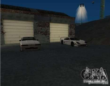 Armas e carros por todo o mapa para GTA San Andreas segunda tela