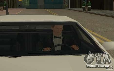 Agente 007 para GTA San Andreas quinto tela