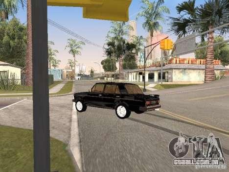 VAZ 2106 para GTA San Andreas vista superior