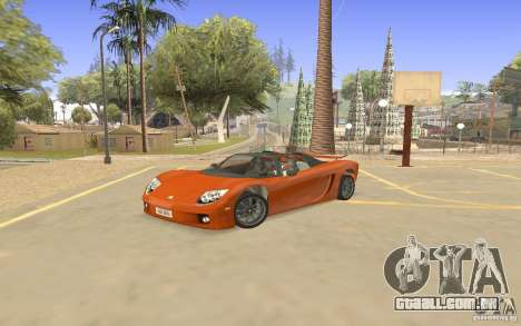 Veloche carro para GTA San Andreas