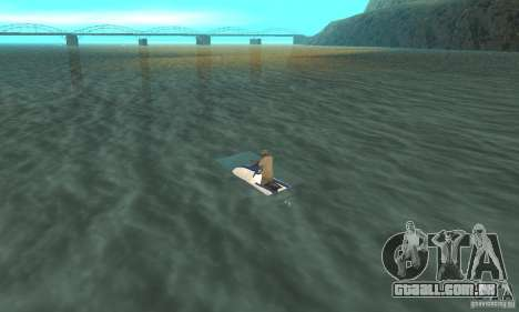 VCS Jetski para GTA San Andreas esquerda vista