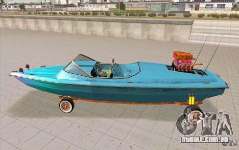 Hot-Boat-Rot para GTA San Andreas esquerda vista