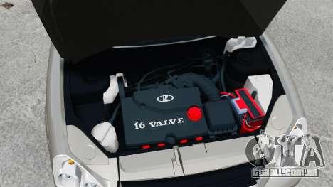 FBI Vaz-2172 para GTA 4 vista interior