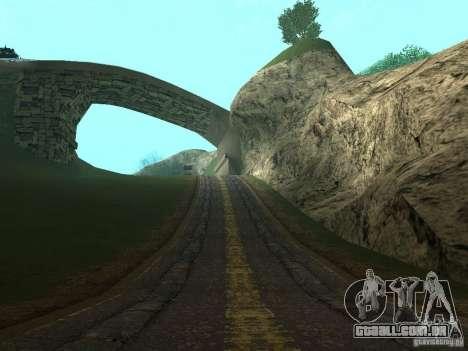 Novas estradas em Vajnvude para GTA San Andreas