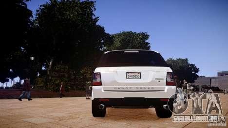 Range Rover Sport Supercharged v1.0 2010 para GTA 4 vista direita