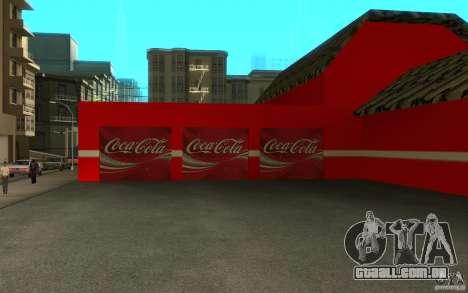 Coca Cola Market para GTA San Andreas terceira tela