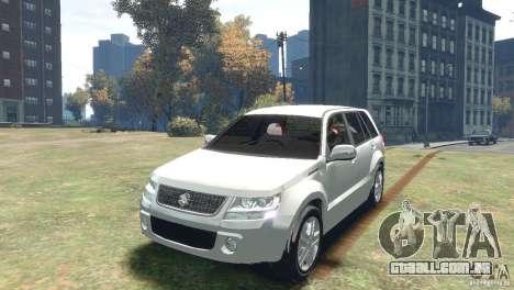 Suzuki Grand Vitara para GTA 4