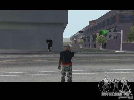 Chamada vendedor armas v 1.1 para GTA San Andreas segunda tela