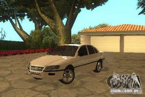 Opel Omega B 1997 para GTA San Andreas traseira esquerda vista
