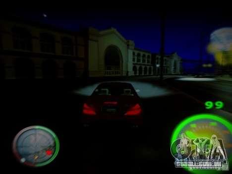 Velocímetro por Centrale para GTA San Andreas segunda tela