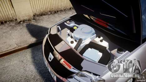 Dacia Logan v1.0 para GTA 4 vista de volta