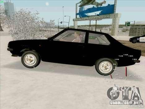 Dacia 1310 Sport para GTA San Andreas vista direita