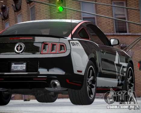 Ford Mustang Boss 302 para GTA 4 vista interior