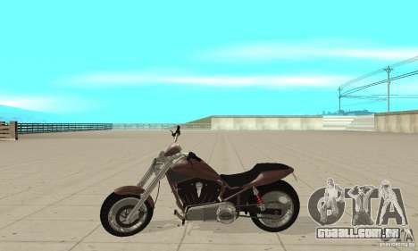 GTAIV Reverant para GTA San Andreas esquerda vista