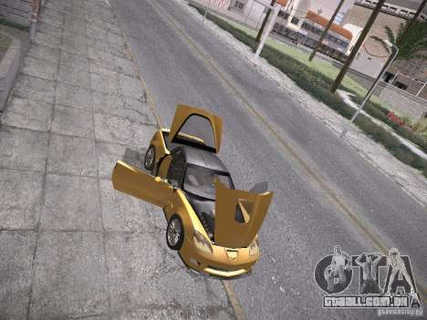 Chevrolet Corvette ZR1 para GTA San Andreas interior