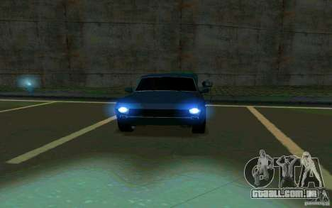 Volga GAZ 24 v2 (beta) para GTA San Andreas vista traseira