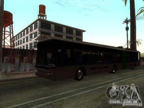 Trólebus LAZ E301 para GTA San Andreas esquerda vista