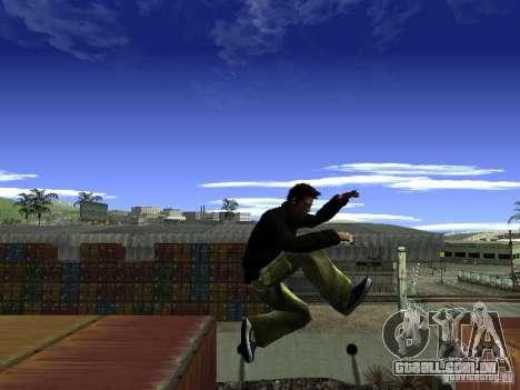 Claude HD Remake (Beta) para GTA San Andreas sétima tela