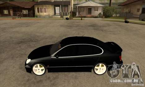 TOYOTA ARISTO 2001 ano para GTA San Andreas esquerda vista