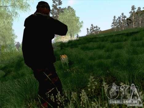 Hunting Mod para GTA San Andreas por diante tela