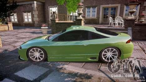 Mitsubishi Eclipse para GTA 4 esquerda vista