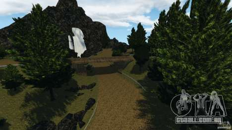 DiRTY - LandRush para GTA 4 quinto tela
