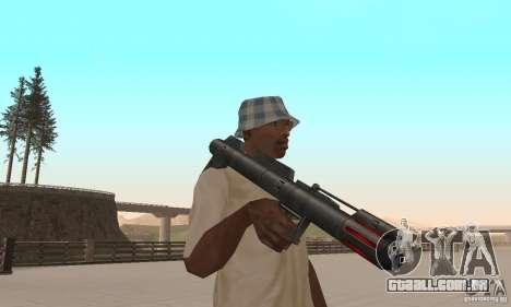 Pacote de armas de Star Wars para GTA San Andreas nono tela