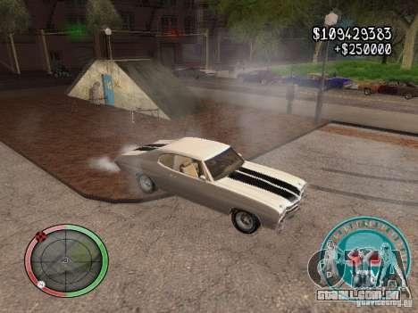 Skul Speedometer para GTA San Andreas quinto tela