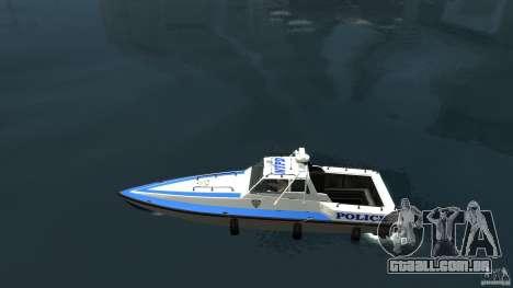 NYPD Predator para GTA 4 esquerda vista
