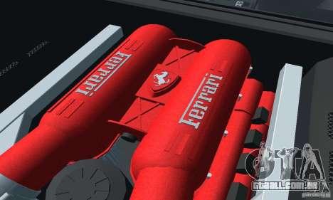 Ferrari F430 para GTA San Andreas traseira esquerda vista