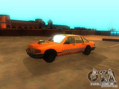 Crazy Taxi para GTA San Andreas esquerda vista