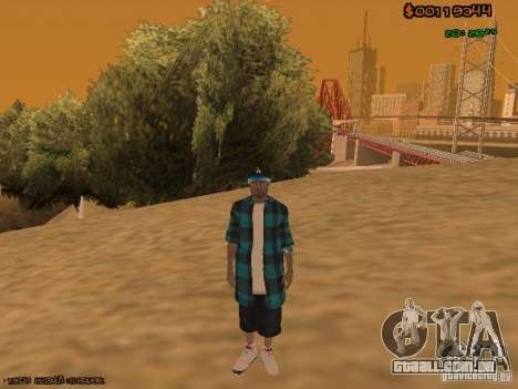 Varios Los Aztecas para GTA San Andreas terceira tela