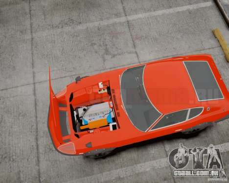 Nissan Fairlady Z HS30-240Z para GTA 4 traseira esquerda vista