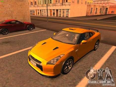 Nissan GT-R SpecV Black Revel para GTA San Andreas